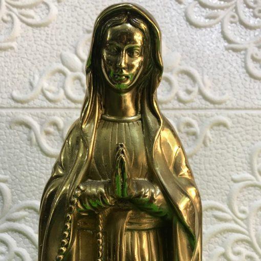Tượng đồng Đức Mẹ Lộ Đức 40cm
