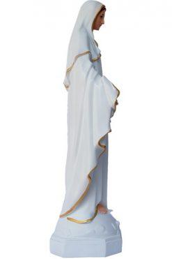 Tượng đức Mẹ Ban ơn Trắng 30cm 03