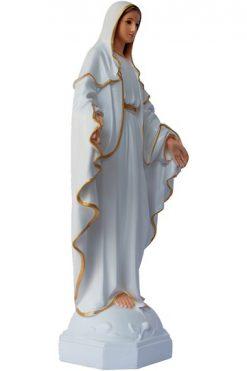 Tượng đức Mẹ Ban ơn Trắng 30cm
