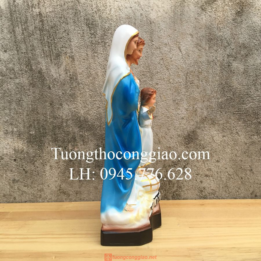 Tượng Gia đình Thánh Gia Cao 30cm Rất đẹp 03