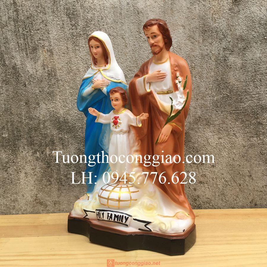 Tượng Gia đình Thánh Gia Cao 30cm Rất đẹp 06
