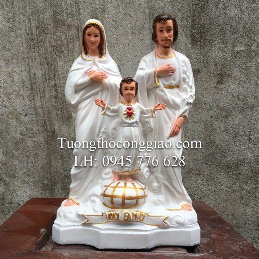 Tượng Gia đình Thánh Gia Cao 30cm Rất đẹp 07