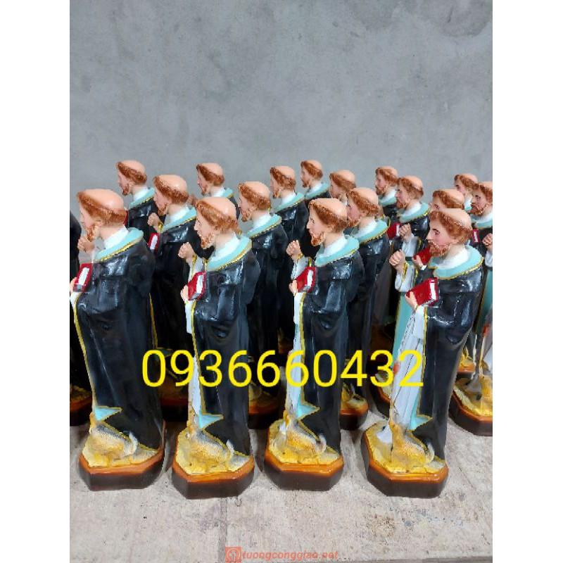 Tượng Thánh Đa Minh Cao 40cm02