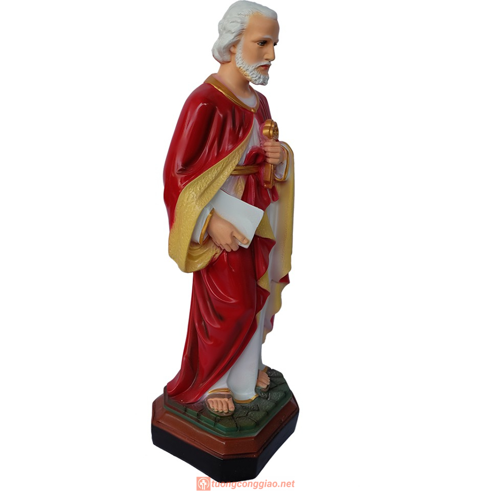 Tượng Thánh Phêrô Cao 40 Cm 02