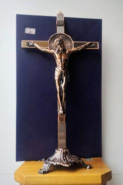 Tượng Thánh Giá Kim Loại Màu đồng (1)