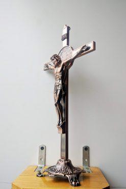 Tượng Thánh Giá Kim Loại Màu đồng (4)