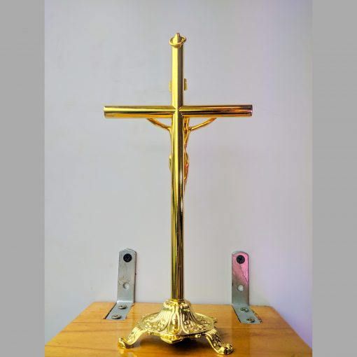 Tượng Thánh Giá Kim Loại Màu Vàng đồng (2)