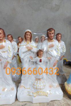 Tượng Thánh Gia Thất Cao 35cm Composite