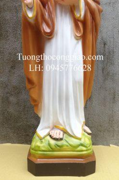 Tượng Thánh Gioan Kim Cao 50cm 02