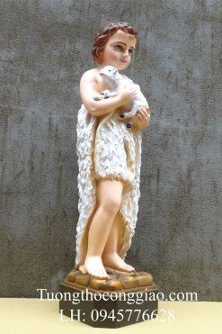 Tượng Thánh Gioan Tẩy Giả 50cm 02