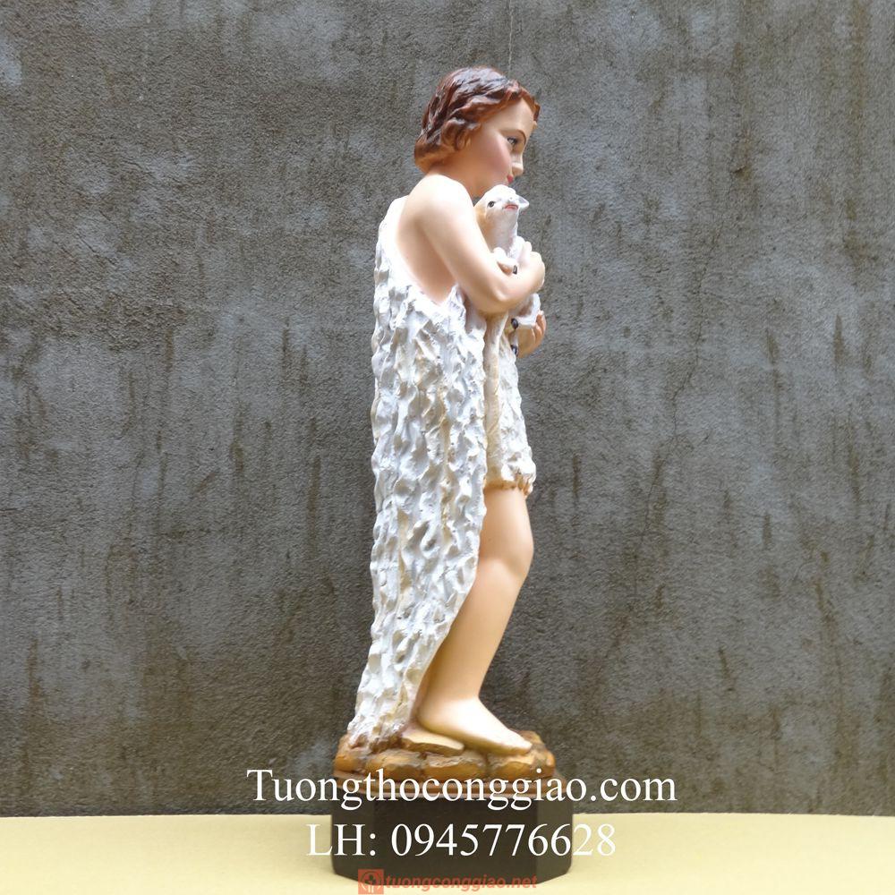 Tượng Thánh Gioan Tẩy Giả 50cm 03