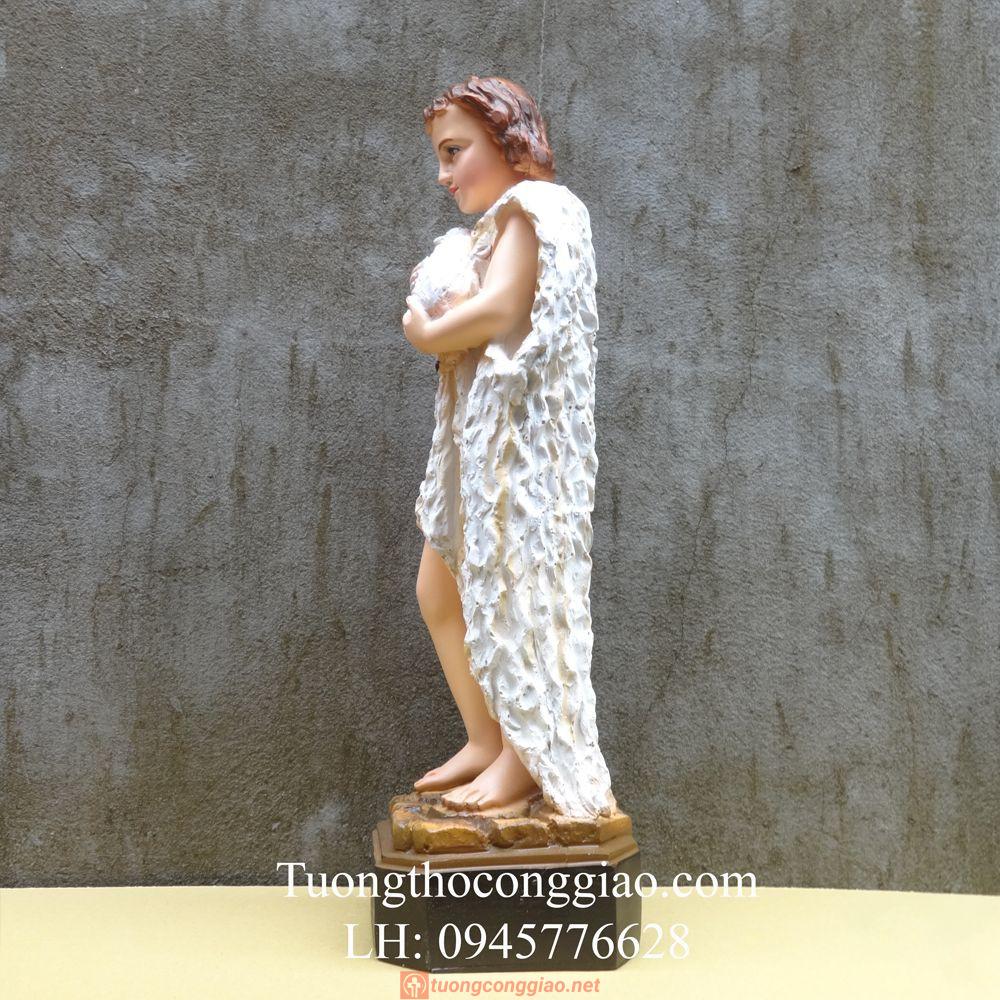 Tượng Thánh Gioan Tẩy Giả 50cm 05