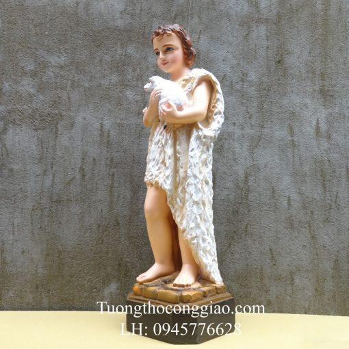 Tượng Thánh Gioan Tẩy Giả 50cm 06