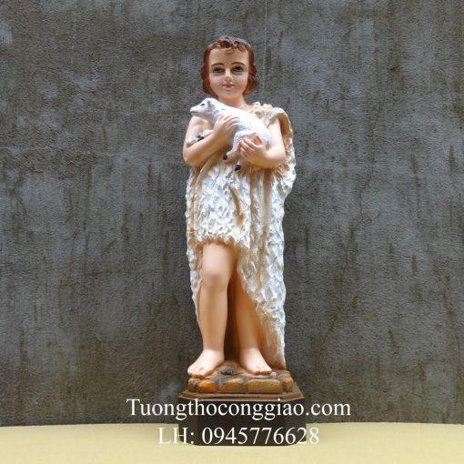 Tượng Thánh Gioan Tẩy Giả 50cm