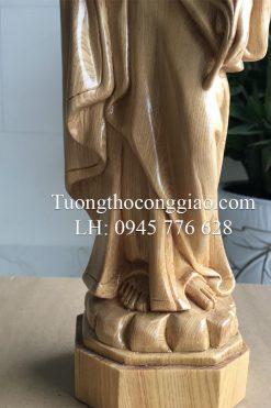 Tượng Thánh Giuse Bằng Gỗ 40cm 03
