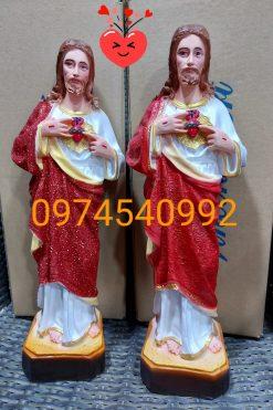 Tượng Thánh Tâm Chúa Cao 40cm 04