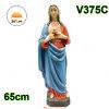 Tượng Thánh Tâm Đức Mẹ Mẫu Ý 65cm