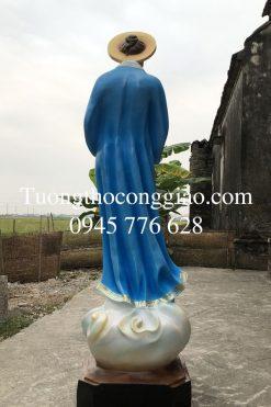 Tượng đức Mẹ La Vang 160 Cm (1)