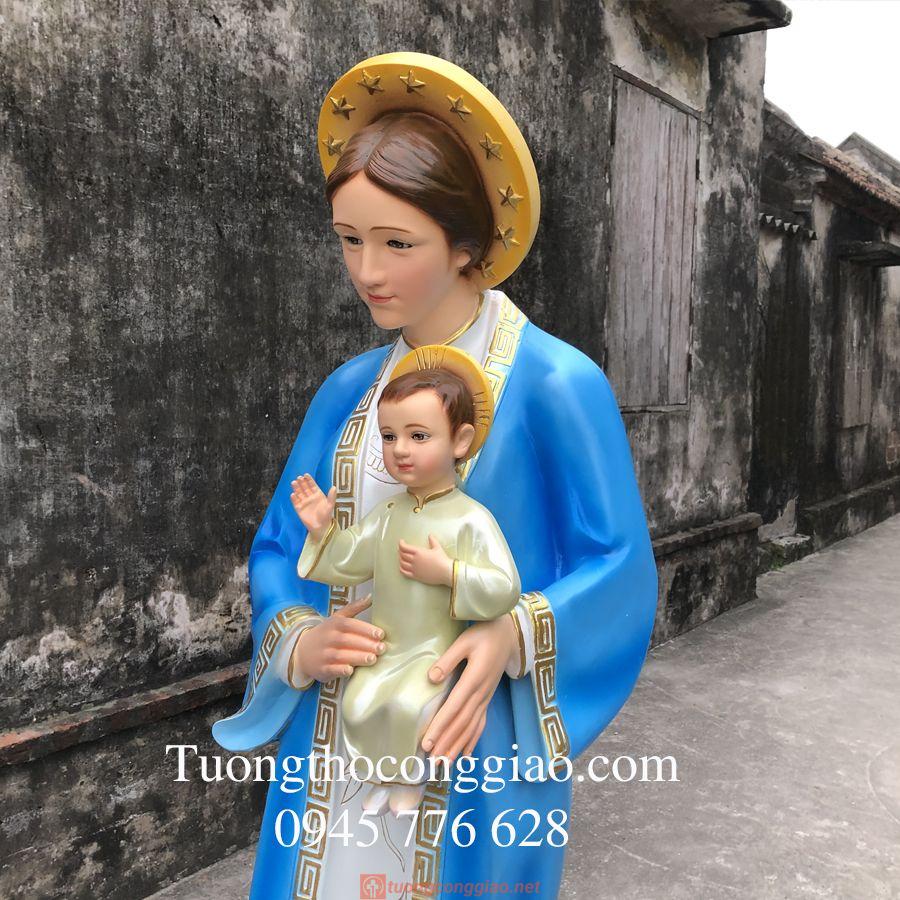 Tượng đức Mẹ La Vang 160 Cm (2)