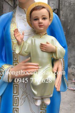 Tượng đức Mẹ La Vang 160 Cm (3)