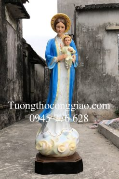 Tượng đức Mẹ La Vang 160 Cm (4)