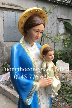 Tượng đức Mẹ La Vang 160 Cm (5)