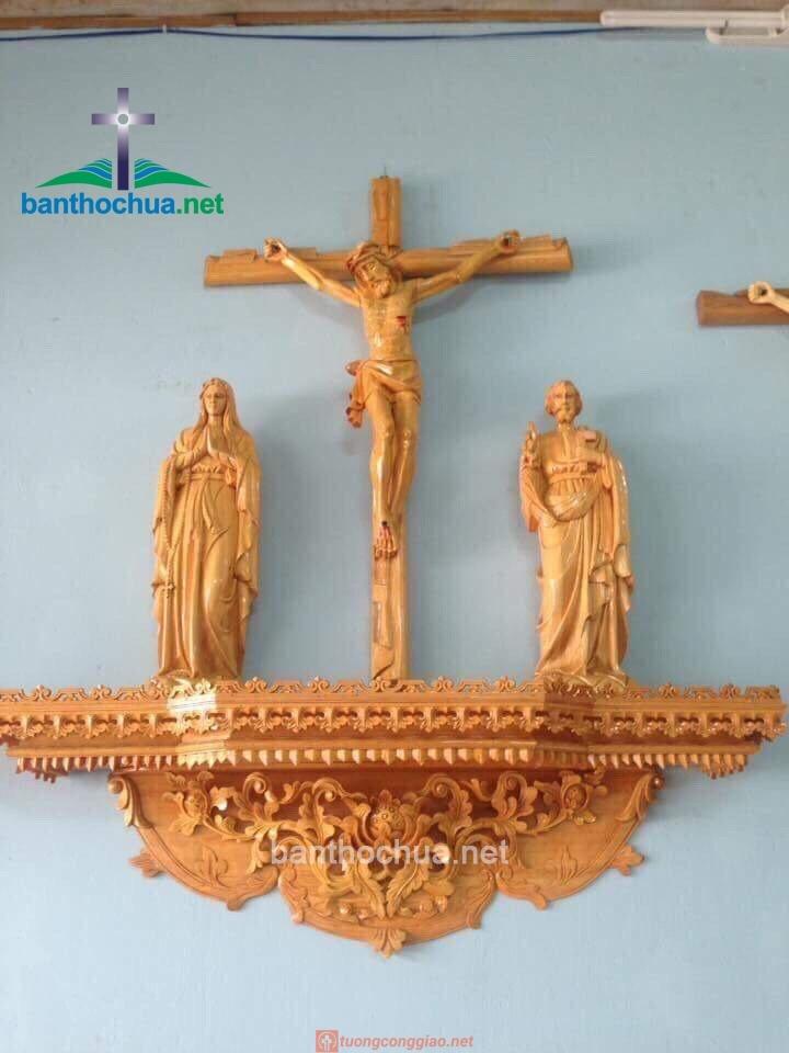 Mẫu Bàn Thờ Công Giáo Treo Tường đẹp