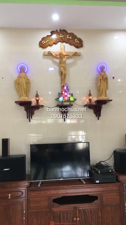 Mẫu Bàn Thờ Gia đình Công Giáo